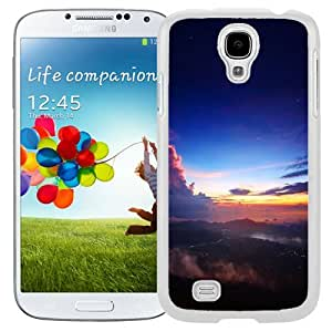 New Beautiful Custom Designed Cover Case For Samsung Galaxy S4 I9500 i337 M919 i545 r970 l720 With Wonderful Space Sky (2) Phone Case