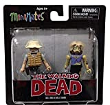 DIAMOND SELECT TOYS Walking Dead Minimates Series 1: Dale and Female Zombie, 2-Pack