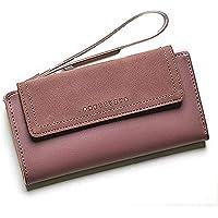 moca Womens Girls Elegant Stylish Long Trendy Wallet Clutch Purse for Womens