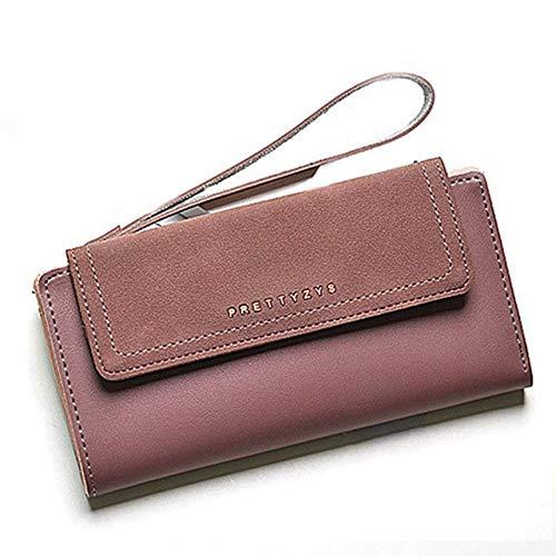 MOCA Vintage Suede Nubuck Leather (Elegant) PREMIUM QUALITY~ Womens Wallet  Long Clutch Wallet Hand purse For Womens Women s Girls Ladies Wallet Clutch  Purse ... 5aee8a7a83