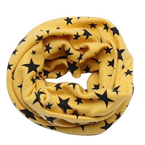 Knit Kids Scarf - RARITY-US Unisex Baby Toddler Kids Knit Loop Scarf Winter Warm Cotton Wrap Shawl Scarf Neckwarmer
