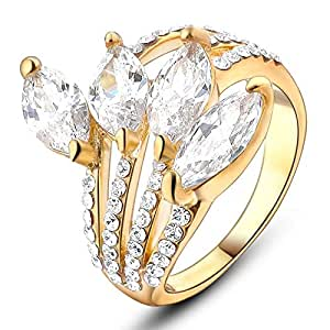 Crystal Stone Ring For Women Size 17
