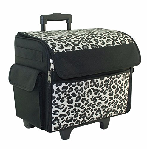 Everything Mary Rolling Sewing Machine Tote, Cheetah Print (Machine Tote Sewing)