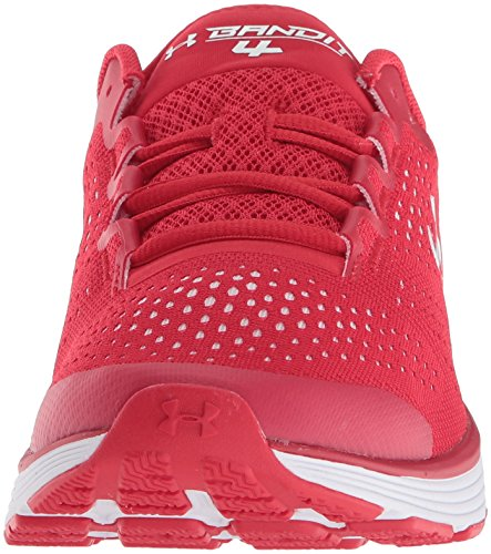 Under Men's Bandit Charged Red Shoe 600 red Running Team Armour 4 RRxrPwSq