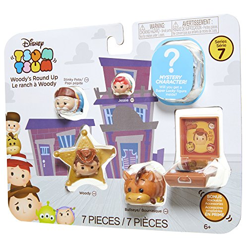 Tsum Tsum Disney 7 Pack Figures Series 7, Style #2, Toy Story Pack Toy Figure