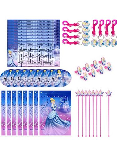 Hallmark Birthday Party Cinderella Party Favor Pack ()