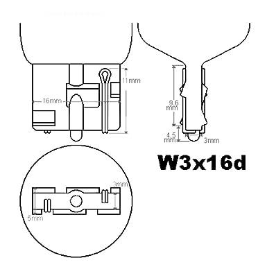 10 X Lampen W3x16d W21w Glühbirnen Glassockel Birnen T20 21w Weiß 12v Gewerbe Industrie Wissenschaft