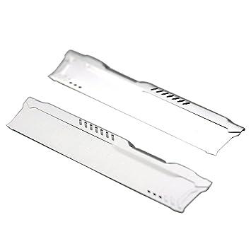 Memory RAM Cooler Heat Sink Cooling Vest Fin Radiation Dissipate For DIY PC Game Overclocking MOD DDR DDR3 DDR4 Fury Hyper X Black