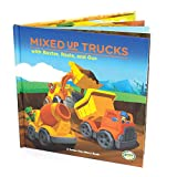 img - for Mixed-Up Trucks with Baxter, Rosie & Gus (Green Toys Story Books) book / textbook / text book