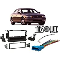 ABSOLUTE RADIOKITPKG3 Fits Buick Century 1997-2003 Single DIN Stereo Harness Radio Install Dash Kit