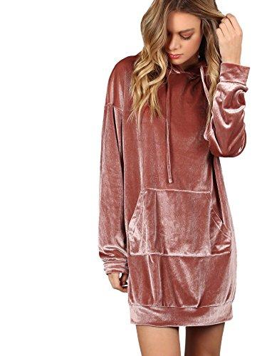 hoodie dress - 8