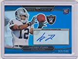 jacoby ford - 2010 Topps Platinum Jacoby /Ford Raiders 315/599 Autographed Insert Rookie Card