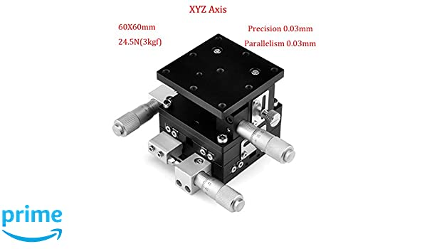 Linear Stage Actuator Mini Linear Stage for Equipment Positioning Precision Inspection Roller Guide Durable Manual XY Sliding Table