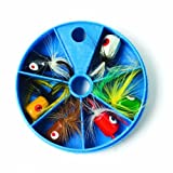 Eagle Claw Lake and Stream Dial Box Popper Assortment by Eagle Claw