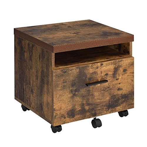 Acme Furniture Acme 92398 Bob File Cabinet, Weathered Oak, One Size by Acme Furniture (Image #1)