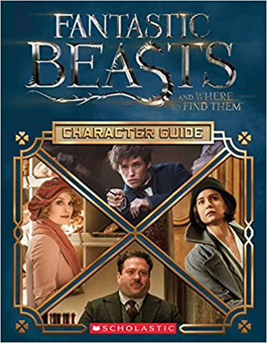 Character Guide Fantastic Beasts and Where to Find Them  (Hardcover) – Harry Potter – HPB