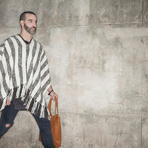 Stripped Poncho by Ceferina