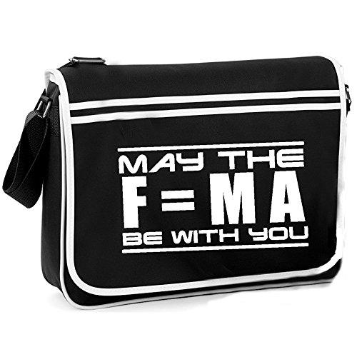 May The F=MA - Retro Shoulder Bag