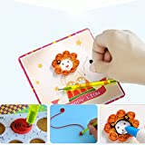 DIY 3D Flower Greeting Cards Hand Made Paper Painting Tool Children Paper Rolling Sets Paper Flower Home Decor Paper Art
