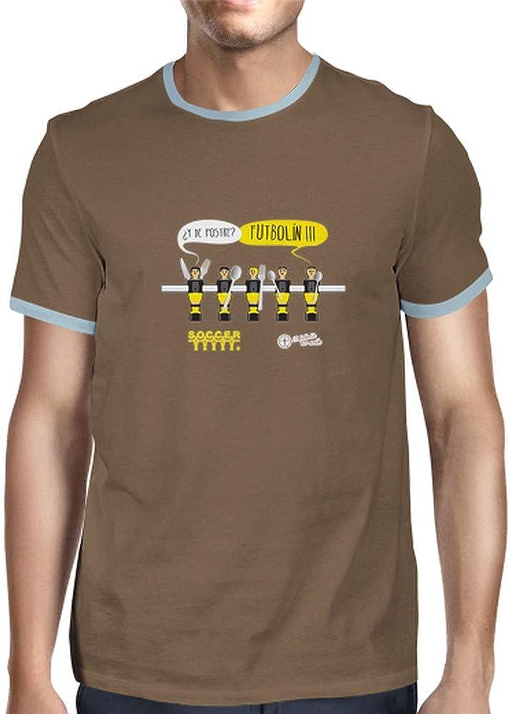 latostadora - Camiseta y de Postre Futboln para Hombre: SoccerTable: Amazon.es: Ropa y accesorios