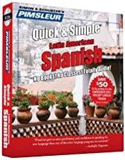 Pimsleur Spanish Quick & Simple Course - Level 1 Lessons 1-8 CD: Learn to Speak and Understand Latin American Spanish with Pimsleur Language Programs (Volume 1)