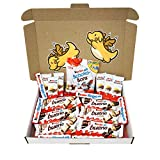 Ferrero Kinder Assorted Chocolates Gift Box (19-Pack) Classic German Candy | Bueno, Bueno White, Riegel, Country, and Schoko-Bons | Personal Packs or Christmas Shareables