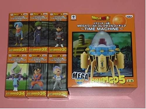 Dragon Ball Super World Collectable Figure WCF ANIME Vol.6 6 and TIME MACHINE