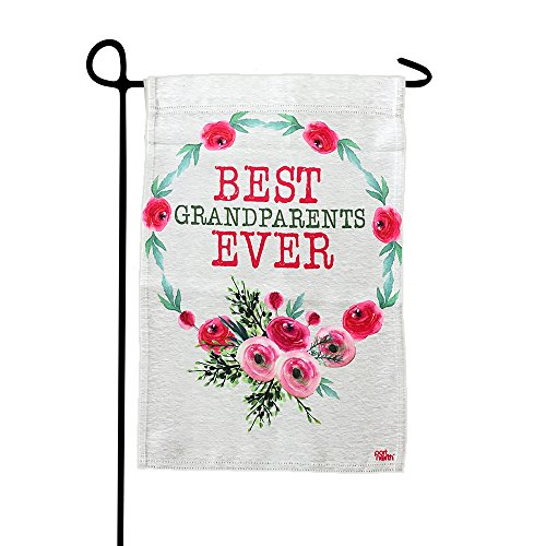 Garden Flag - Best Grandparents Ever Double Sided Decorative