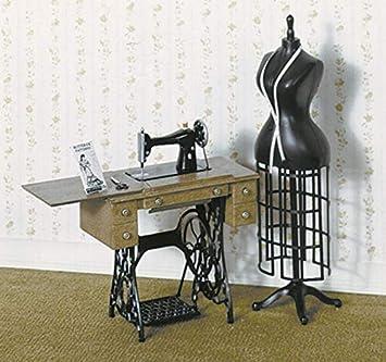 Amazon.es: Melody Jane Chrysnbon Casa Muñecas Máquina Coser y ...
