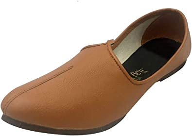 Men/'s Brown Khussa Shoes Punjabi Jutti Ethnic Mojari Handmade Jalsa Nagra Shoes indian shoes