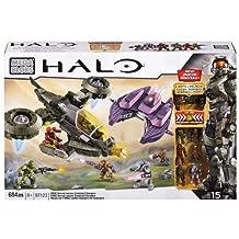 Mega Bloks Halo UNSC Hornet versus Covenant Vampire, Lights and Sounds
