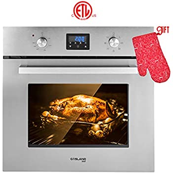 Single Wall Oven, GASLAND Chef ES609DS 24