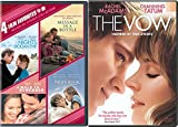 The Notebook + The Vow Romance Movies DVD A walk to Remember / Nights in Rodanthe / Message in a Bottle Set Double Love Twice as Much