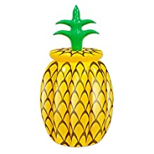 """Beistle 57885 Inflatable Pineapple Cooler, 20"""" Width x 36"""" Height"""