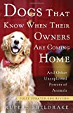 Dogs That Know When Their Owners Are Coming Home, Rupert Sheldrake, 0307885968