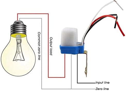 Auto Light Sensor Photo Control Switch for Outdoor Street Light Lamp 10A 220V