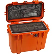 Pelican Products 1430-004-150 Medium Top Loader Case with Padded Dividers & Lid Organizer (Orange)