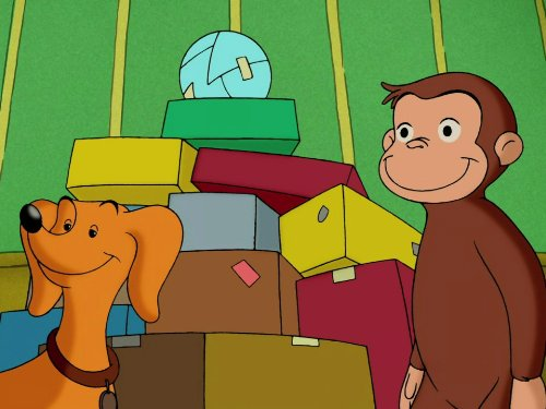 Curious George, Door Monkey/Curious George Goes Up the River