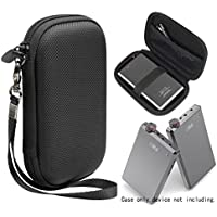 Headphone Amplifier Protective Case for OPPO HA-2, FiiO A5, E12A, E18 KUNLUN Android Phone DAC & AMP, Cayin C5, Xonar U7 MK7.1 USB DAC, with fasterning elastic strap and Mesh Pocket for Cable
