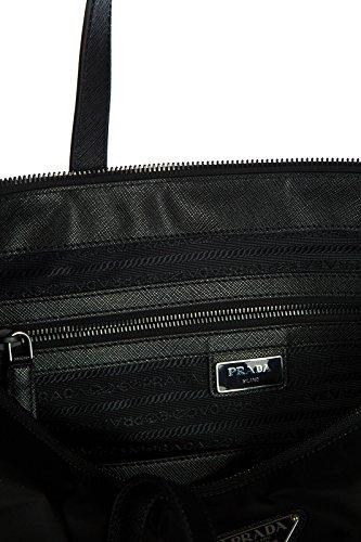 Prada Handgelenktasche Nylon Handtasche Herren Tasche Schwarz