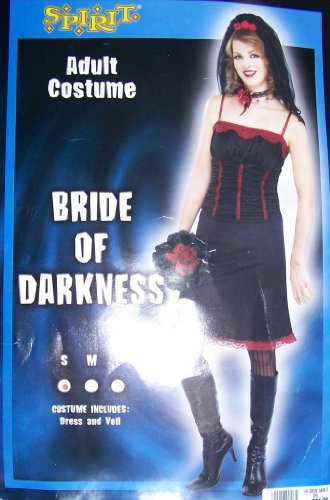 Sexy Bride of Darkness Gothic Vampiress Dress Large