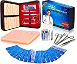 Suture Kit Practice Pad Kit with Tools and
