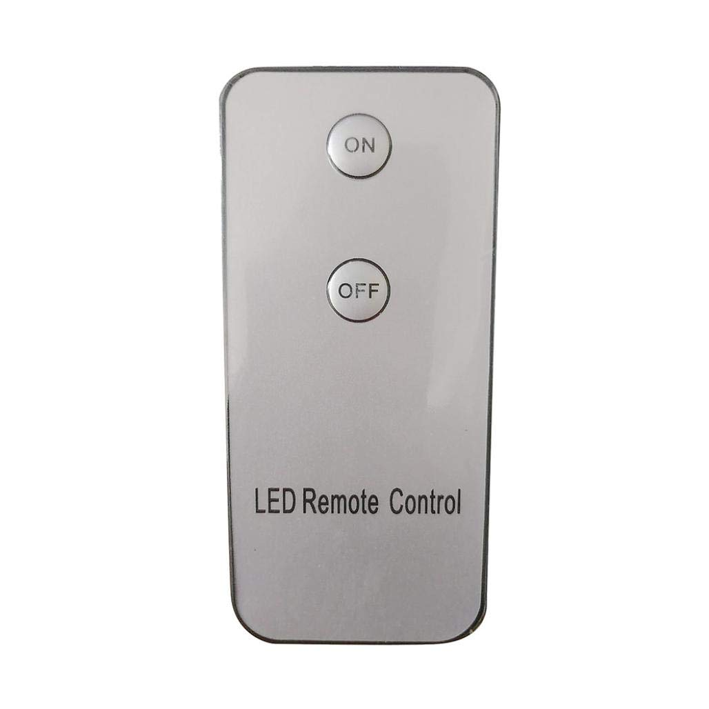 TAOtTAO Remote control Alphabet Letter Lights LED Light Up White Plastic Letters Standing K