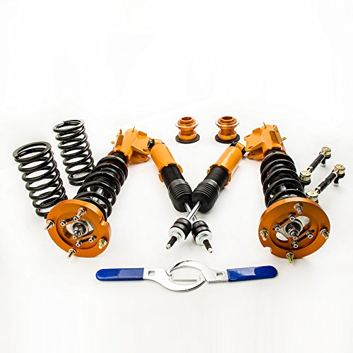 Damper Kit Ford Mustang - Full Adjustable Coilovers Kits for Ford Mustang ASuspension Spring Shock Strut 2005 2006 2007 2008 2009 2010 2011 2012 2013 2014