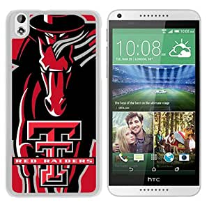 Recommend Design NCAA Big 12 Conference Big12 Football Texas Tech Red Raiders 6 White HTC Desire 816 Protective Phone Case