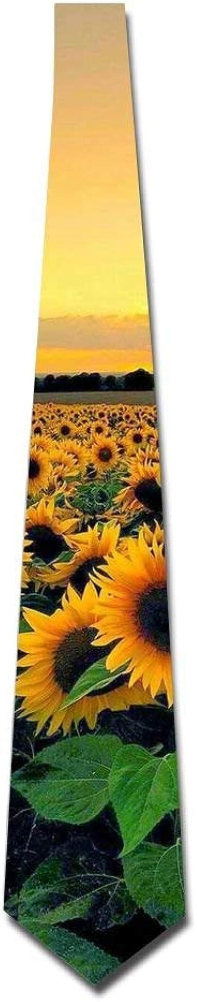 Flower Ties-Black Necktie-Skinny Ties Free Shipping-Sunflower Skinny Tie-Sunflower Tie Flower Tie-Floral Tie