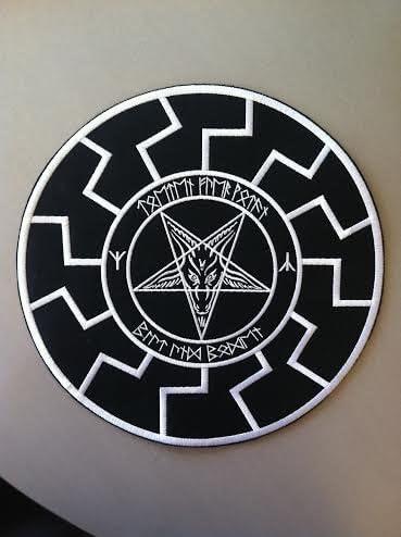 PENTAGRAM logo embroidered NEW patch doom metal