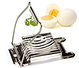 CellCase Egg Slicer, Mushroom Slicer, Garnish Slicer, Stainless Steel Cutting Wires/Frame