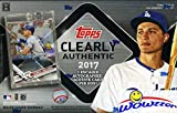 2017 Topps Clearly Authentic Baseball Factory Sealed HOBBY Box with Encased AUTOGRAPH ACETATE Card! Look for SIGNED Cards of Derek Jeter, Aaron Judge, Mike Trout, Sandy Koufax, Ichiro & More! WOWZZER!