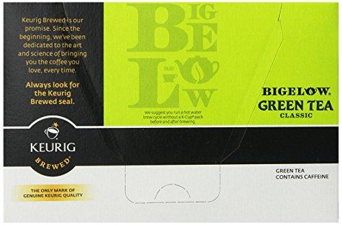 Keurig, Bigelow, thé vert, les packs K-Cup, 72 comte